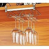 Gläserhalter Gläserschiene Edelstahl Weinglashalterung Hangers Rack Stielgläser Halter für Bar