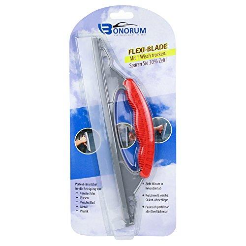 Bonorum-lavavetri-in-silicone--perfetto-per-lasciugatura-rapida-di-auto-docce-o-finestre--lama-di-gomma-flessibile-di-30-cm-di-larghezza-extra