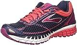 Brooks Aduro 4, Zapatos para Correr para Mujer, Gris (Peacoat/Teaberry/Boysenberry), 37.5 EU