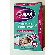 THREE PACKS of Calpol Vapour Plug In Refills 5 Refills