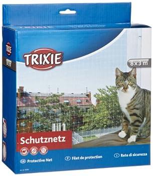 Trixie - 44343 - Filet de protection - Transparent - 8 x 3 m