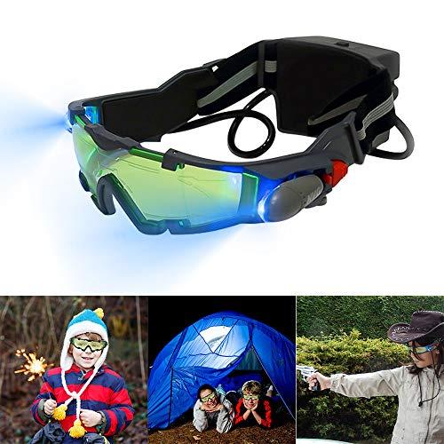 Konesky Gafas visión Nocturna Ajustables Gafas protección