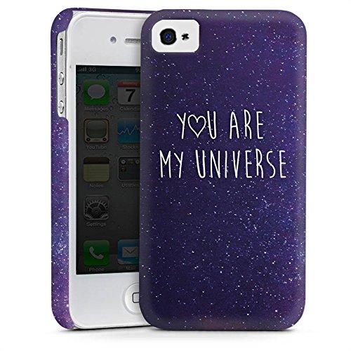 Apple iPhone 6 Plus Housse Étui Protection Coque Phrase Amour Amour Cas Premium mat