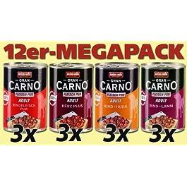 Animonda Mega Pack Gran Carno Carne Plus Mix 112X 400G Dose–Cibo per Cani