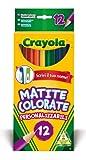 Acquista Crayola - 12 Matite Colorate Personalizzabili