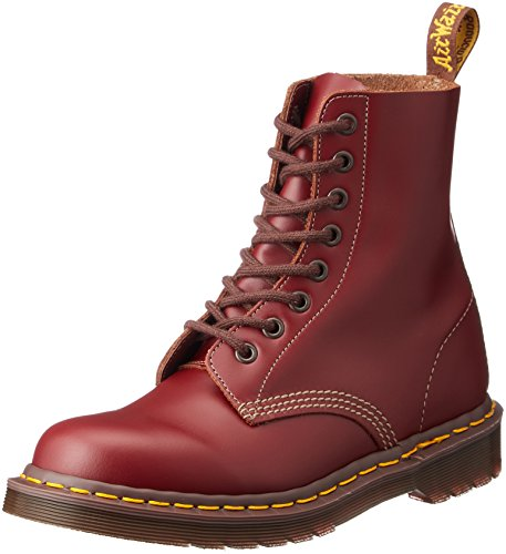 Dr. Martens 1460Z Quilon OXBLOOD, Unisex-Erwachsene Combat Boots, Rot (Oxblood), 39 EU (6 Erwachsene UK) (Stiefel Oxblood Leder)