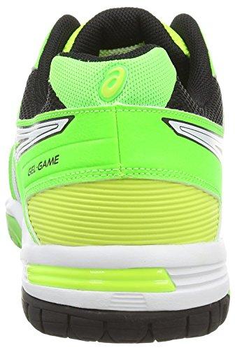 Asics - Gel-Game 5, Scarpe Da Tennis da uomo Giallo (Flash Yellow/White/Flash Green 0701)