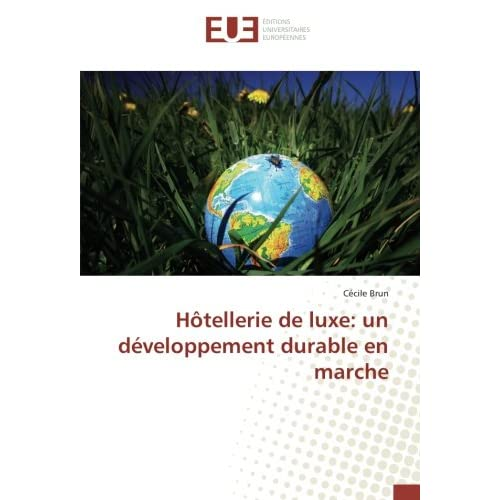 HOtellerie de luxe: un developpement durableen marche