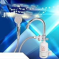 Immediata calda Acqua di rubinetto senza serbatoio a doppia calda e riscaldamento elettrico a freddo rubinetto della cucina di acqua del rubinetto elettrico istantaneo acqua di riscaldamento del riscaldatore di acqua di riscaldamento doccia , 1