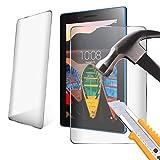 Amazon Fire Kids Edition (2015) ausgeg lichenes Cristal de protector de pantalla LCD Pantalla Para 7Inch Tablet transparente transparente 2 Pack