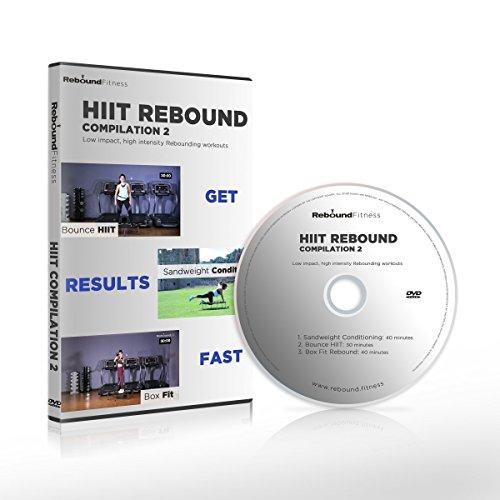 Die HIIT-Rebound Kompilation 2 DVD beinhaltet 3 hochenergetischen Minitrampolin-Workouts, mit der Ihre Fitness das nächste Level erreichen wird. Super Fitness