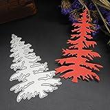 Bluestercool Navidad Artesanía Troqueles Scrapbooking Corte del metal muere las plantillas Diy Scrapbook Bricolaje Scrapbooking álbum de papel tarjeta (D)