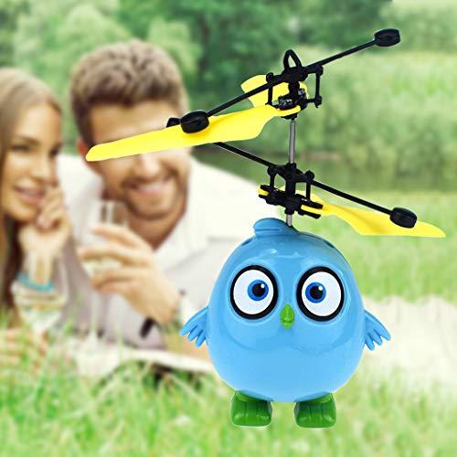 chsene Entwicklung Lernspielzeug Bildung Spielzeug Gute Geschenke,Elektrisches Infrarotsensor-Fliegen-Ball-glückliches Vogel-Hubschrauber-LED-Licht ()