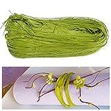 Natur-Bast 4mm farbig - 50g - viele Farben, Raffia (Grün)