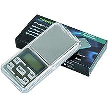 Gaddrt - Báscula Digital de precisión (200 g, para joyería de Oro, Peso