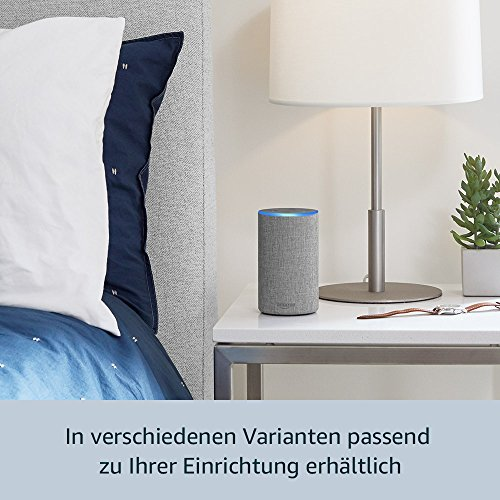 Das neue Amazon Echo (2. Generation), Hellgrau Stoff - 5