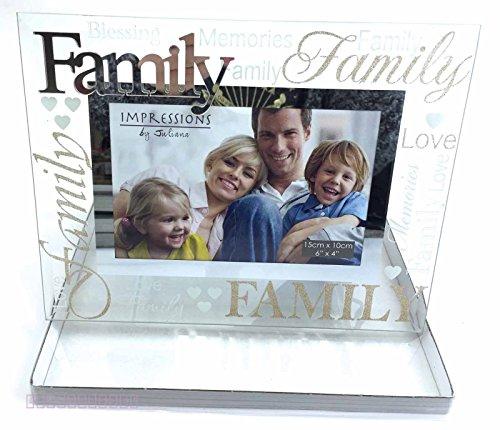 Famiglia Cornice portafoto regalo regali compleanno cornice