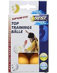 Más deportes 6 piezas Tenis de mesa la formación de bolas - naranja