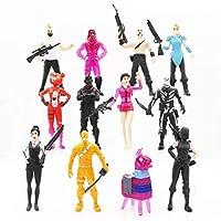 12Pcs/Set Fortnite Battle Game Royale Llama Action figures