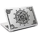 Legend of Zelda en portail de Temps en Lèvre MacBook en Ordinateur Portable Sticker fenêtre en