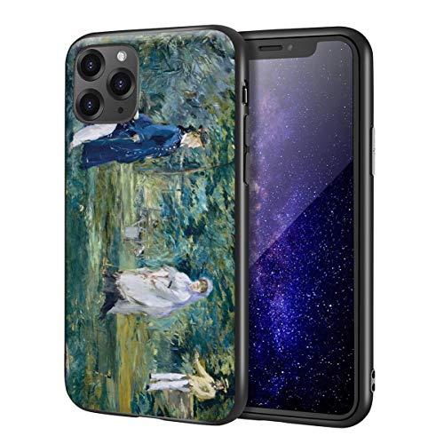 Berkin Arts Edouard Manet für iPhone 11 Pro Hülle/Fine Art Handytasche/Giclée Ebene UV-Druck auf Telefonabdeckung(A Spiel of Croquet)