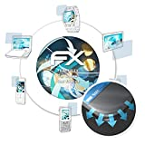 atFolix Schutzfolie passend für Allview Soul X5 Style Folie, ultraklare & Flexible FX Bildschirmschutzfolie (3X)