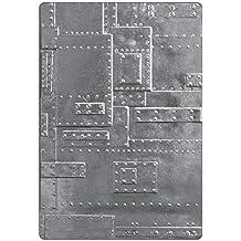 Sizzix 3-D Texture Fades Troquel Carpeta de grabado Fundición