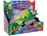 PJ Masks Vehículo Turbo-Gekko, Color Verde 2 (Bandai 24978)