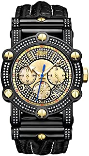JBW Men's 10-Year Anniversary Phantom 196 Diamonds Chronograph W