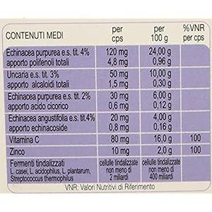 ESI Immunilflor - Integratore alimentare a base di echinacea, uncaria, zinco e vitamina C, 30 Capsule 1 spesavip