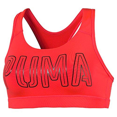 PUMA Damen Bustier PWRSHAPE Forever Red Blast, XS