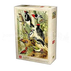 Deico Games Puzzle 75994/EN 02 - Puzzle (1000 Piezas), diseño de pájaros Encyclopedia