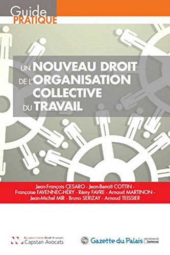 Un nouveau droit de l'organisation collective du travail