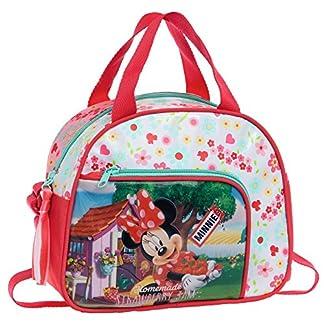 Disney Minnie Strawberry Neceser de Viaje, 4.37 Litros, Color Rosa