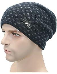 Modelshow Hombre Invierno Sport al Abierto Sports más Terciopelo a Camiseta  Calavera del Sombrero Esquí Tapón b92c1f26d627