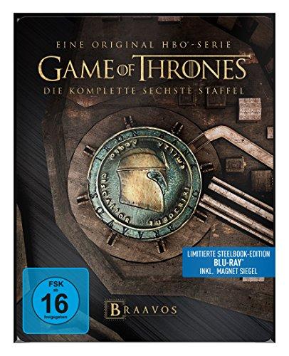 game of thrones steelbook staffel 3 Game of Thrones - Staffel 6 - Steelbook [Blu-ray]