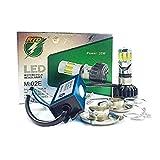 #8: ZESI H4 35W Cob 6 Led Bike/Car Headlight Bulb Light Kit 360° 6000K 3500Lm