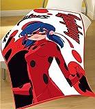 Miraculous Ladybug Bettdecke für Kinder Decke für Mädchen Decken für Kinder