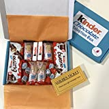 Kinder Selection Treat Hamper Box - Handmade Gift