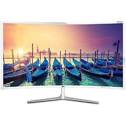 yido 325fhdcv 32pulgadas curvada LCD Monitor–Samsung PLS 1080P amplio ángulo de visualización–libre voltaje 100~ 240V–fabricado en