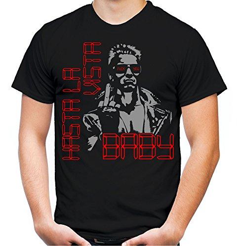 Cyborg Kostüm Männer Für (Terminator T-Shirt | Roboter | Cyborg | Maschine | Cyberdyne | Systems | Männer | Herren | Alien | Vintage | Science | Fiction | Fun | M3 (XXL,)