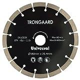 TRONGAARD DIAMANT-TRENNSCHEIBE 180mm/25.4mm - Universal Premium