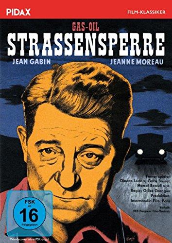 Bild von Straßensperre (Gas-Oil) / Außergewöhnlicher Film noir mit Jean Gabin und Jeanne Moreau (Pidax Film-Klassiker)