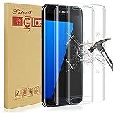 [Lot de 2] Solocil Galaxy S7 Protecteur D'écran, Samsung Galaxy S7 Verre Trempé 9H dureté Résistant aux Rayures Ultra Clair Film Protection Samsung Galaxy S7