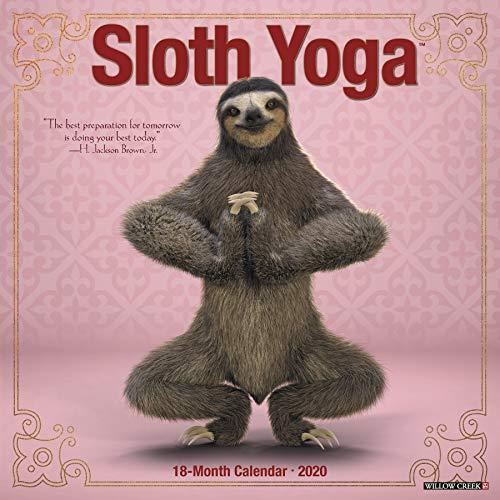 Sloth Yoga 2020 Calendar