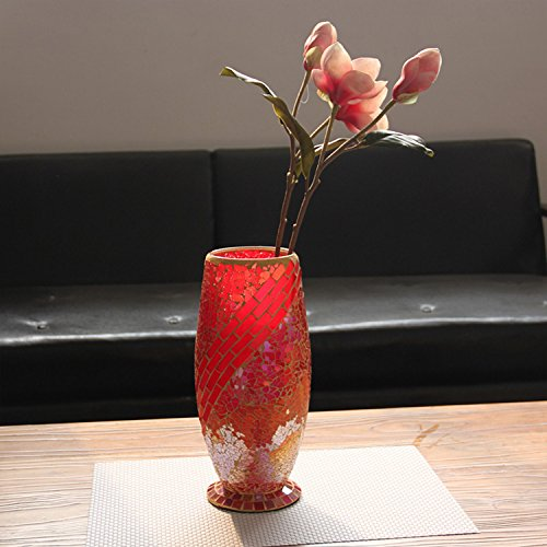 fragment-de-mosaque-europenne-fleur-couleur-vase-en-verre-moderne-accueil-salon-salle-manger-chambre