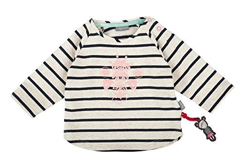 Sigikid Mädchen Sweat Shirt, Baby Sweatshirt, Beige (Melange Art 472bl 432), 86