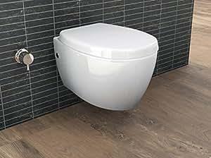 aqua bagno design h nge dusch wc mit bidet taharet funktion inkl softclose sitz. Black Bedroom Furniture Sets. Home Design Ideas