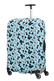 Samsonite Global Ta Disney Lycra Funda de Equipaje L, 80 cm, Azul (Mickey/Minnie Blue)