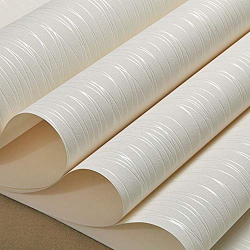 SX1560 Einfache Tapete Kurve Streifen Wasser Welle Vliestapete, Wohnzimmer, Schlafzimmer, TV-Hintergrundbild Perlglanz-Tapete (Farbe : Weiß) - Tv Wasser